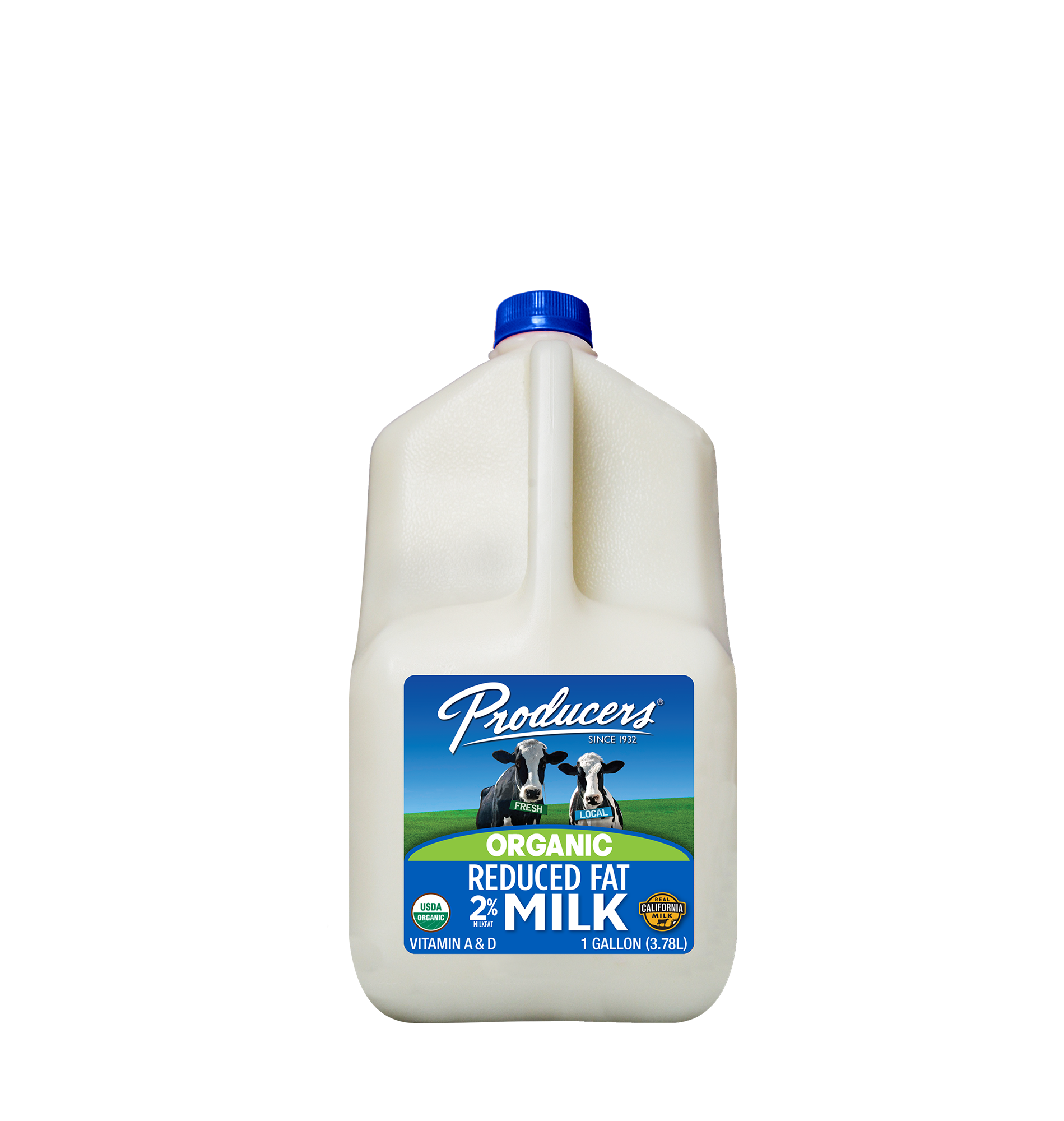 Producers Dairy Reduced Fat Organic Milk
