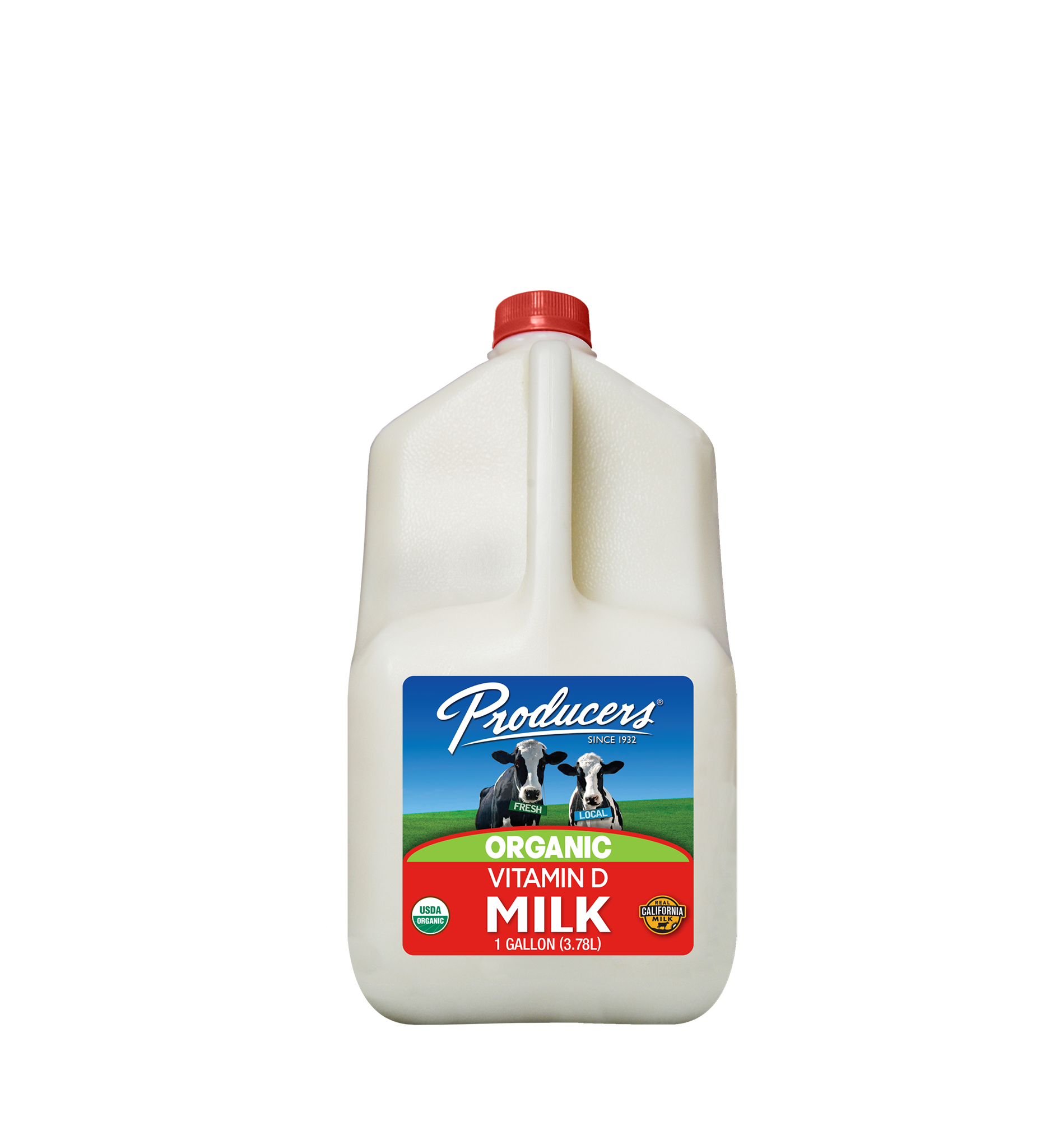 Producers Dairy Organic Whole Milk