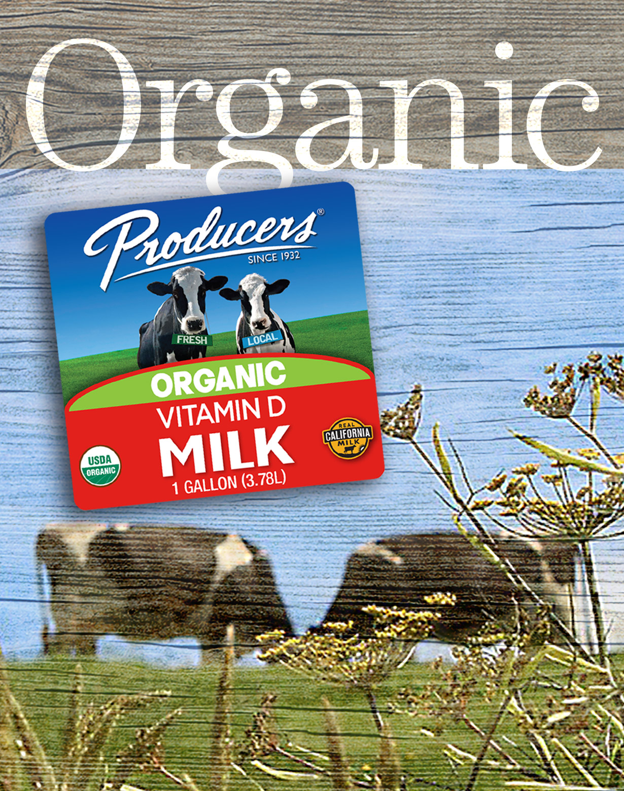 Click here to learn about our frequently asked questions on organic milk.
